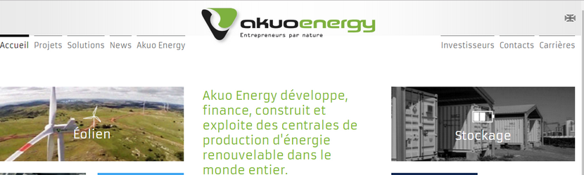 capture site Akuo Energy