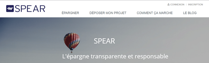 Capture du site Spear