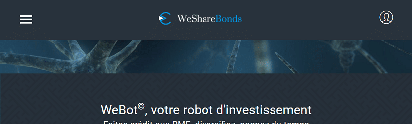 Capture du site Wesharebonds